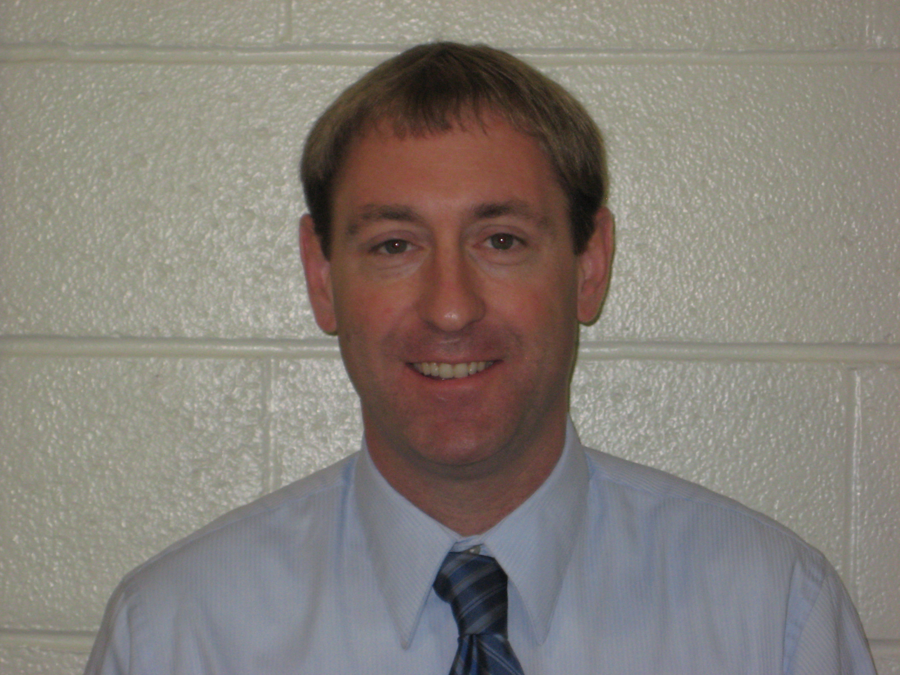 This is an image of Cresaptown Elementary School principal, Scott Llewellyn