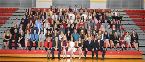 Mountain Ridge Hosts NHS Induction Ceremony