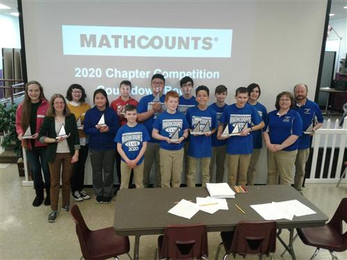 Braddock Mathcounts Team Wins 8th Straight Chapter Championship