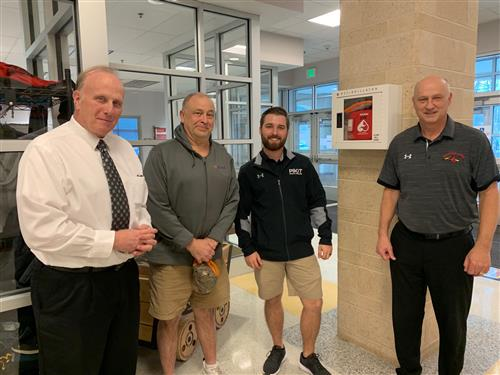 ACPS Staff, Equipment Instrumental in Life-Saving Event