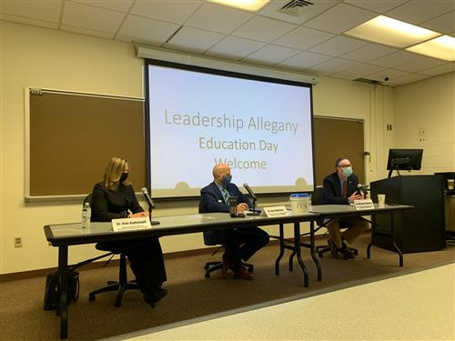 ACPS, ACM, FSU Participate in Annual Leadership Allegany! Education Day