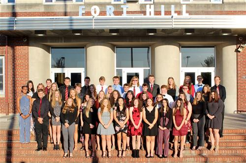 Fort Hill High School Holds National Honor Society Induction Ceremony
