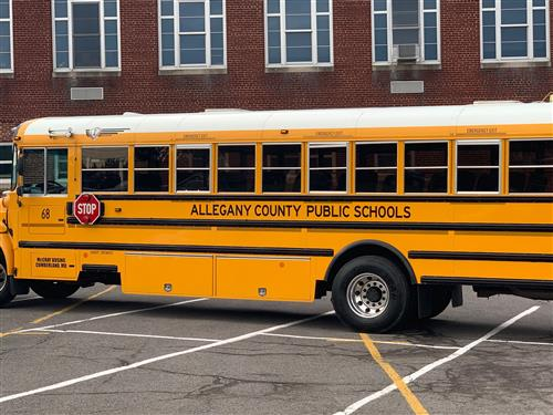 Allegany County Public Schools Encourage Motorists to Obey School Bus Laws