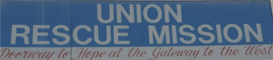 Union Rescue Mission in Need of Donations