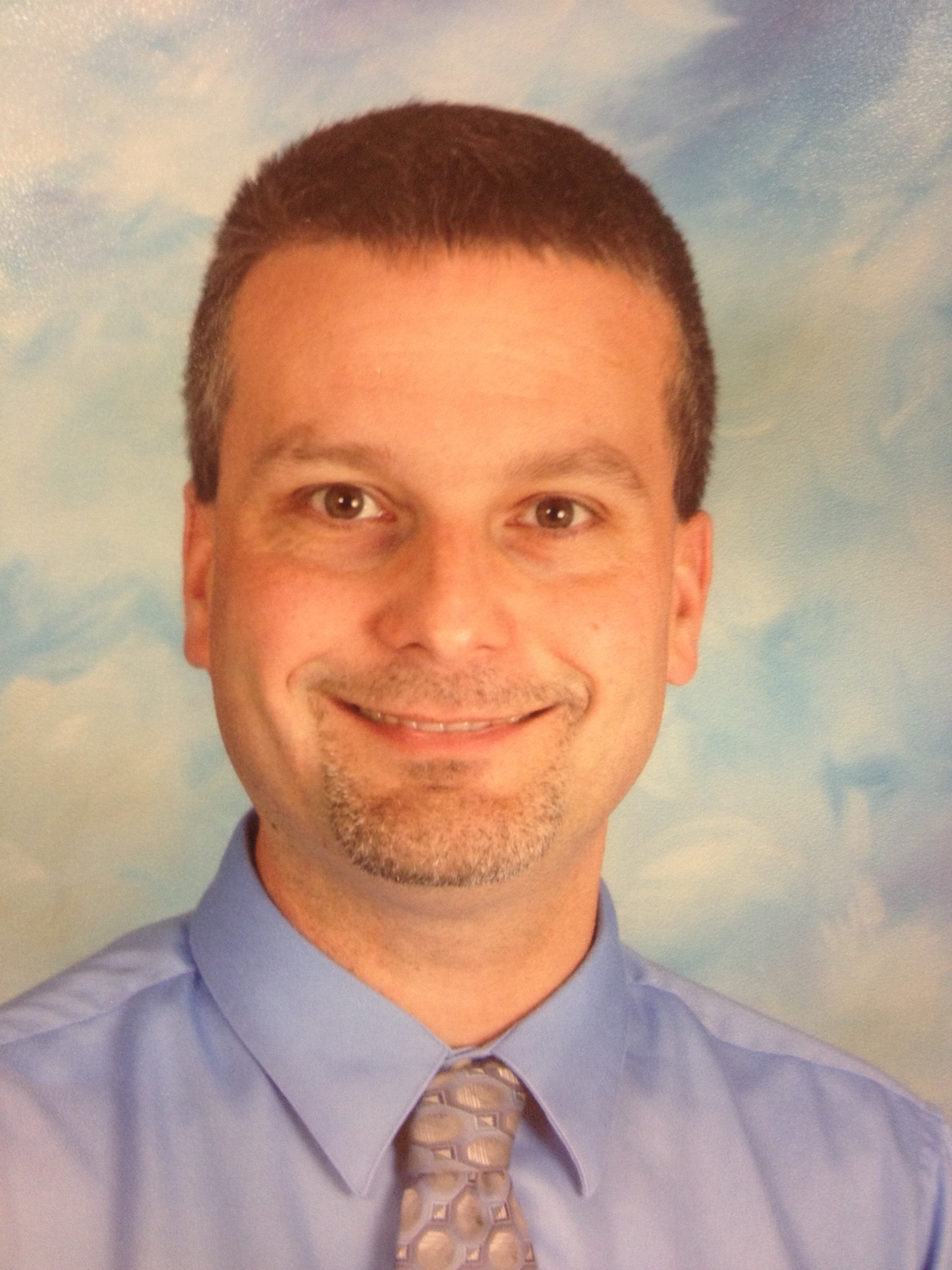 This is an image of Scott Sisler, principal at South Penn Elementary School